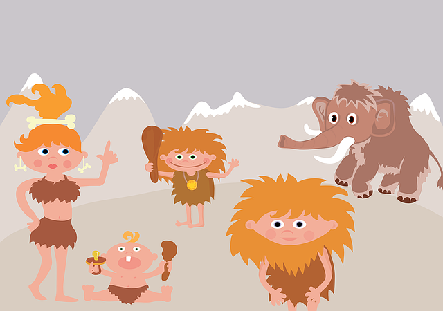 neandrtálci a mamut